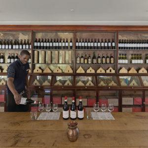 Wine tasting - 21 Gables wall 3
